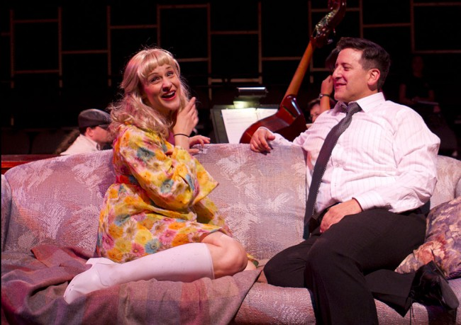 Anna Kuman and Warren Kimmel in  Snapshots: A Musical Scrapbook.