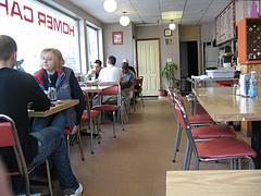 Homer Cafe interior