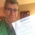 Pic of Adam with his application form.